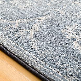 "Modern 2'7"" x 7'10"" Area Rug, Multi, large"