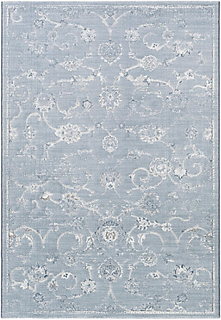 "Modern 7'10"" x 10' Area Rug, Multi, large"