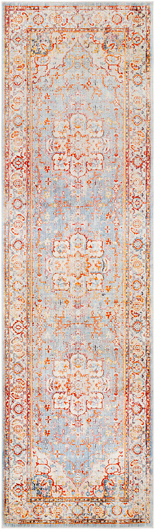 "Home Accents Ephesians 2'7"" x 9' Area Rug, Multi, large"