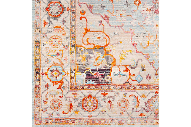 "Home Accents Ephesians 3'11"" x 5'7"" Area Rug, Multi, large"