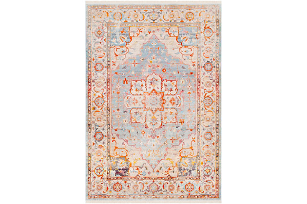 "Home Accents Ephesians 5' x 7'9"" Area Rug, Multi, large"