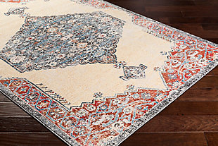 "Rectangular Transitional 5'3"" x 7'6"" Area Rug, Multi, rollover"