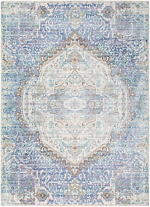 "Rectangular Classic 5'3"" x 7'6"" Area Rug, Multi, large"
