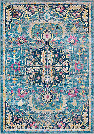 "Rectangular Classic 5'2"" x 7'6"" Area Rug, Multi, large"
