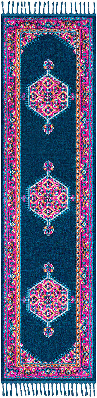 "Home Accents Love 2'7"" x 10' Area Rug, Multi, large"