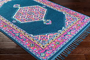 "Home Accents Love 2'7"" x 10' Area Rug, Multi, rollover"