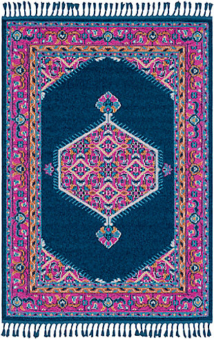 "Home Accents Love 3'11"" x 5'7"" Area Rug, Multi, large"