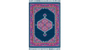 "Home Accents Love 5' x 7'3"" Area Rug, Multi, large"