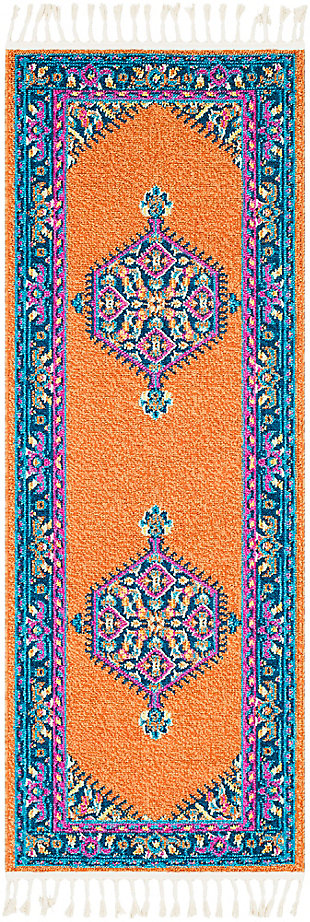 "Home Accents Love 2'7"" x 7'3"" Area Rug, Multi, large"
