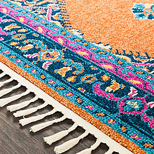 """Home Accents Love 2'7"""" x 7'3"""" Area Rug, Multi, large"""
