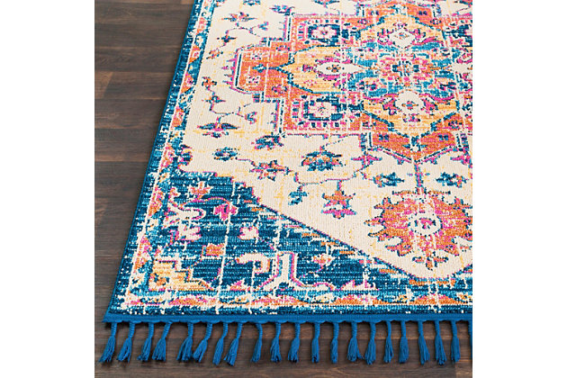 """Home Accents Love 3'11"""" x 5'7"""" Area Rug, Multi, large"""