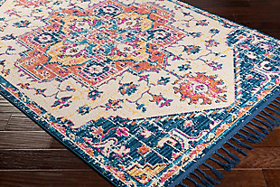 "Home Accents Love 7'10"" x 10' Area Rug, Multi, large"