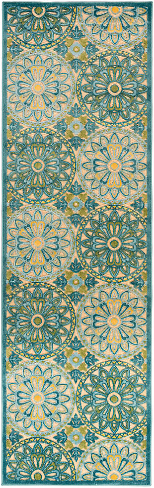"""Tufted Classic 2'6"""" x 7'10"""" Indoor/Outdoor Rug, , large"""
