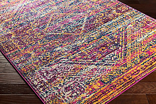 Rectangular Transitional 2' x 3' Area Rug, Multi, rollover