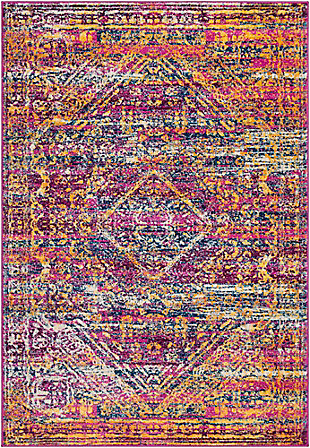 "Rectangular Transitional 7'10"" x 10'3"" Area Rug, Multi, large"