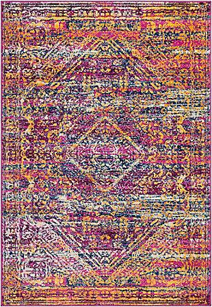 "Rectangular Transitional 7'10"" x 10'3"" Area Rug, Multi, large"