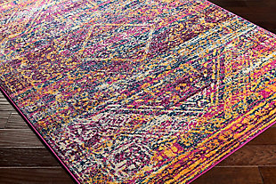 "Rectangular Transitional 7'10"" x 10'3"" Area Rug, Multi, rollover"