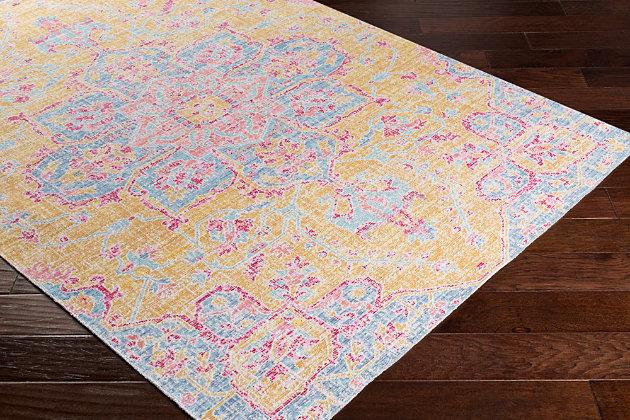 "Rectangular Transitional 3' x 7'10"" Area Rug, Multi, large"