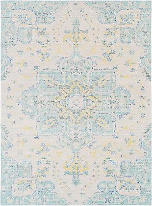 "Rectangular Transitional 3'11"" x 5'11"" Area Rug, Multi, large"