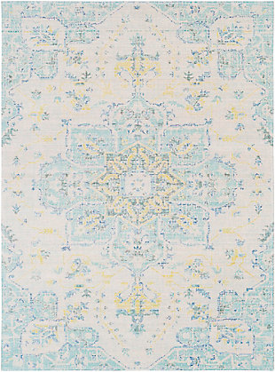 Rectangular Transitional 3' x 5' Area Rug, Multi, large