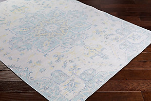 "Rectangular Transitional 3' x 7'10"" Area Rug, Multi, rollover"
