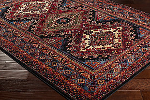 "Rectangular Serapi 2'7"" x 7'3"" Area Rug, Multi, large"