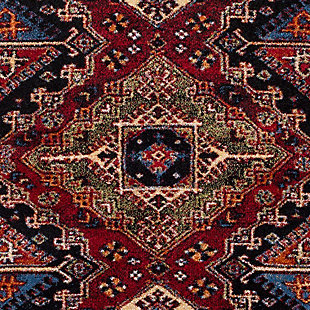 "Rectangular Serapi 5'3"" x 7'3"" Area Rug, Multi, large"