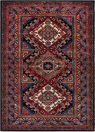 "Rectangular Serapi 7'10"" x 10'6"" Area Rug, Multi, large"