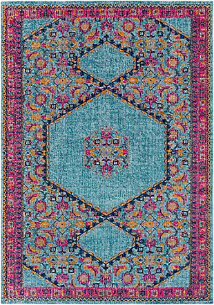 "Rectangular Classic 7'10"" x 10'3"" Area Rug, Multi, large"
