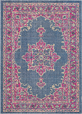 Rectangular Transitional 2' x 3' Area Rug, Multi, large