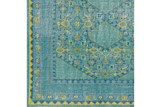 Hand Knotted 2' x 3' Area Rug, Multi, large