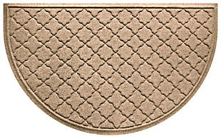 "Home Accent Aqua Shield Cordova 24"" x 39"" Half Round, Khaki, large"