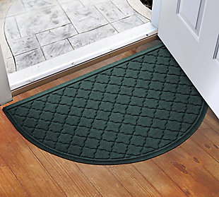 "Home Accent Aqua Shield Cordova 24"" x 39"" Half Round, Evergreen, large"