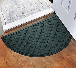 """Home Accent Aqua Shield Cordova 24"""" x 39"""" Half Round, Evergreen, rollover"""