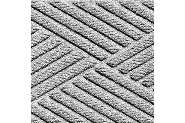 Home Accent Aqua Shield Diamonds Stair Treads (Set of 4), Medium Gray, large