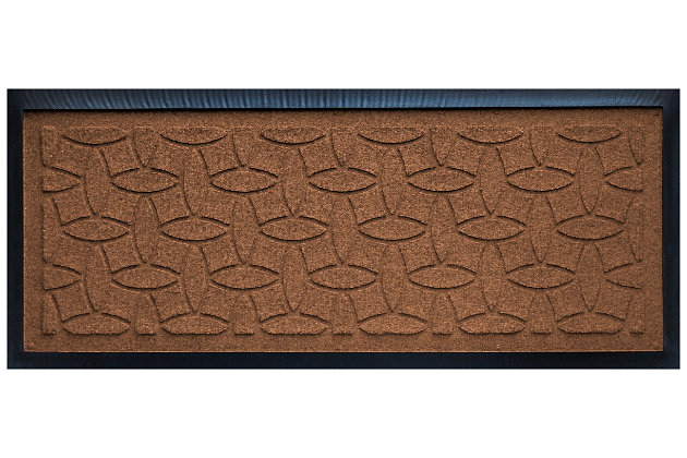 Home Accent Aqua Shield Elipse Boot Tray, Dark Brown, large