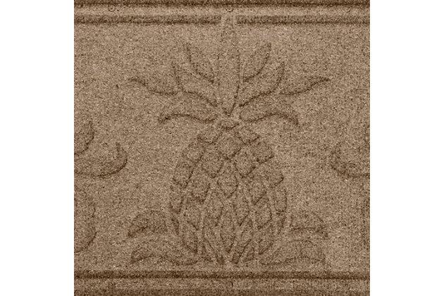 Home Accent Aqua Shield Pineapple Boot Tray, Khaki, large
