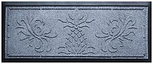 Home Accent Aqua Shield Pineapple Boot Tray, Bluestone, large