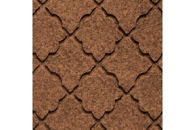 Home Accent Aqua Shield Cordova Boot Tray, Dark Brown, large