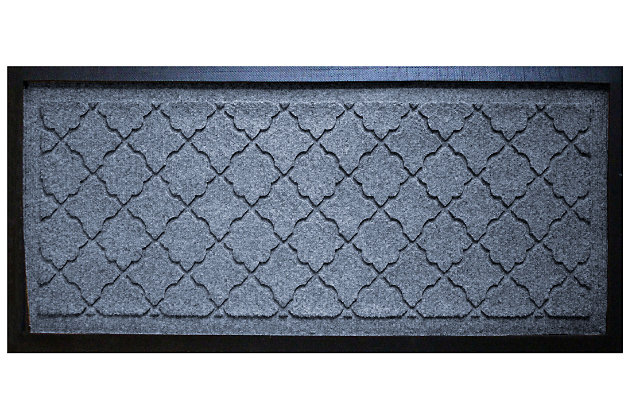 Home Accent Aqua Shield Cordova Boot Tray, Bluestone, large