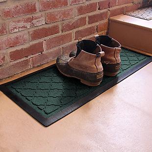 Home Accent Aqua Shield Cordova Boot Tray, Evergreen, large