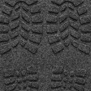 Home Accent Aqua Shield Lug Sole Boot Tray, Charcoal, large