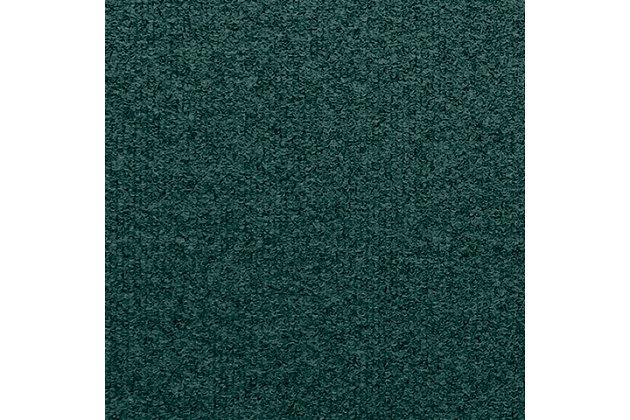 Home Accent Aqua Shield Hello/Goodbye 2' x 3' Doormat, Evergreen, large