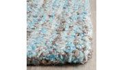Abstract 3' x 5' Doormat, Blue, rollover