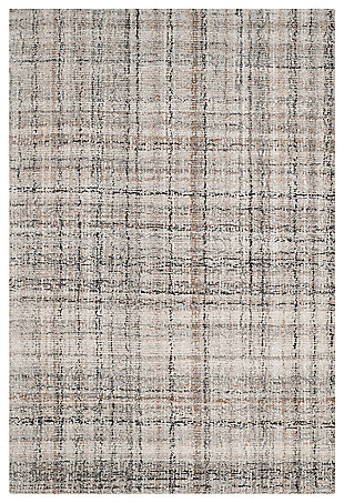 Abstract 3' x 5' Area Rug, , large