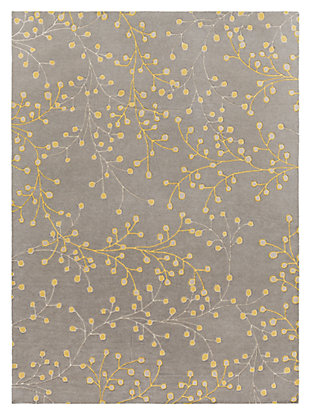 "Home Accents 7'6"" x 9'6"" Rug, Gray, large"