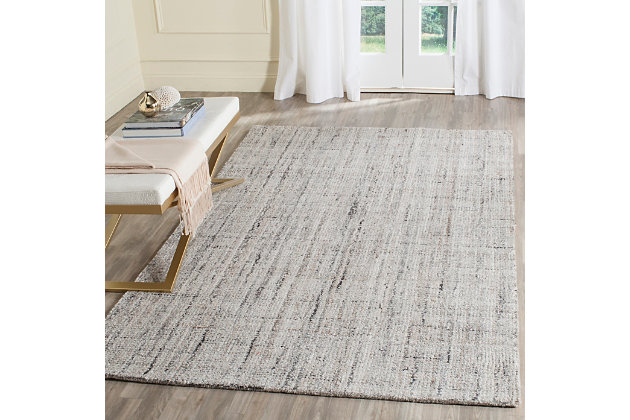 Abstract 8' x 10' Area Rug, , large