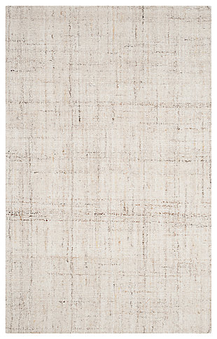 Abstract 6' x 9' Area Rug, , large