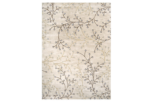 "Home Accents 8"" x 11"" Rug, Multi, large"