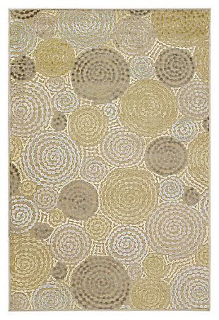 "Home Accents 5'2"" x 7'6"" Rug, Multi, large"